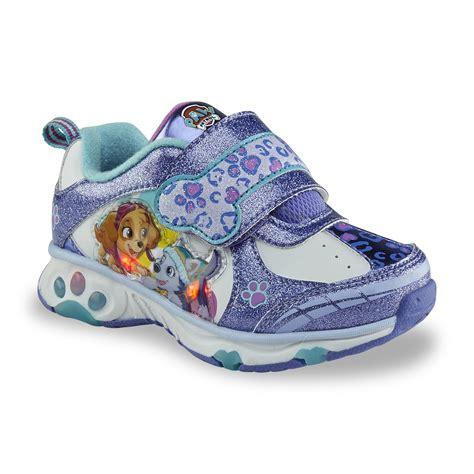 girls light up tennis shoes nickelodeon s paw patrol purple light up
