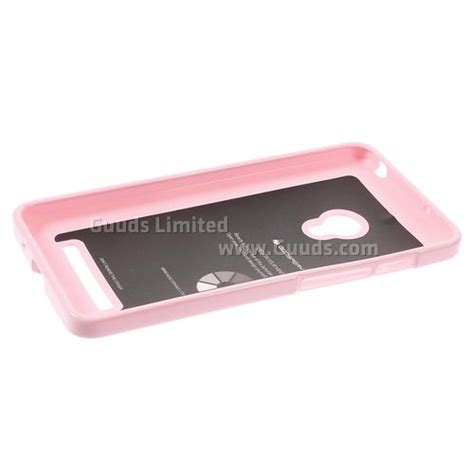 jelly zenfone 5 pink mercury glitter powder jelly tpu back cover for asus