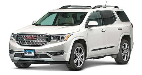 2017 gmc acadia review light on its consumer reports