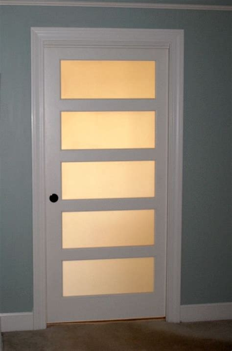 Frosted Glass Panel Interior Door by 25 Best Interior Glass Doors Trending Ideas On