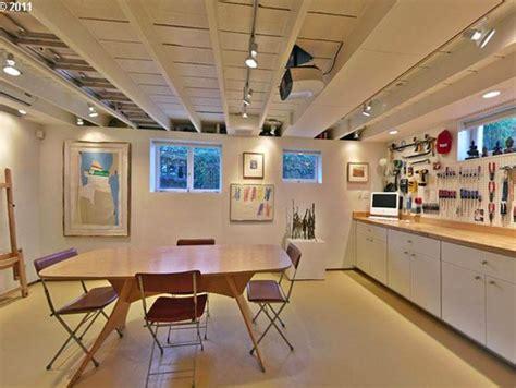 Open Ceiling Lighting Open Basement Ceiling Ideas Basement Gallery