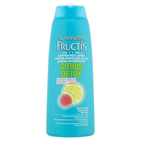 Hsc Detox by Garnier Fructis Citrus Detox šon Proti Lupům 250 Ml