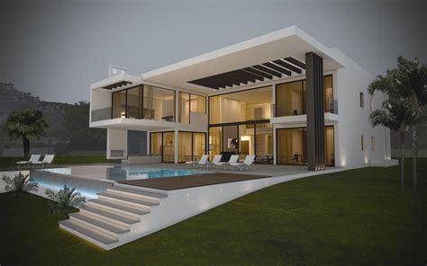 modern villa villas modernes maisons contemporaines immobilier de luxe