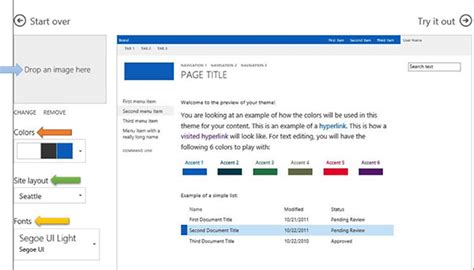 sharepoint color palette tool branding with the sharepoint color palette tool abel