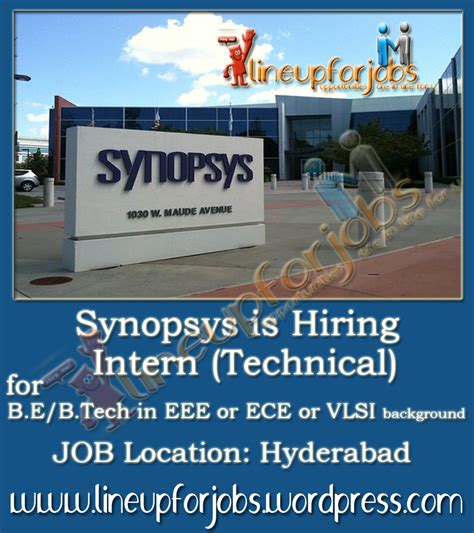 pcb layout jobs in hyderabad synopsys is hiring intern technical at hyderabad