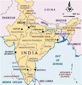 Bangalore India Map by India Map English