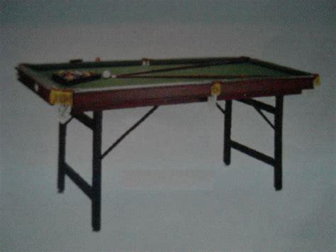 Jual Meja Billiard Second jual meja billiard de lipat 6 ft jakarta murah