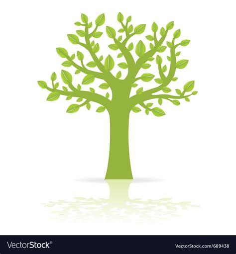 Green Eco Tree Royalty Free Vector Image Vectorstock Green Eco Tree Vector Free