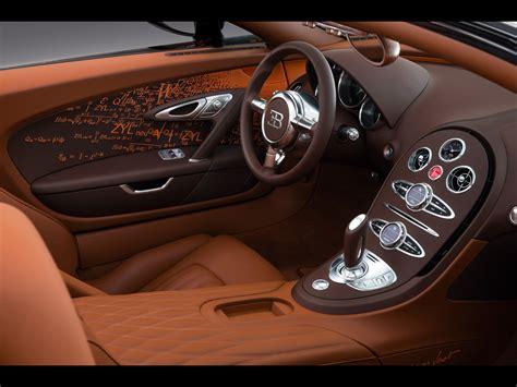 Bugatti Veyron Interior Images by 2012 Bugatti Veyron Grand Sport By Bernar Venet Interior