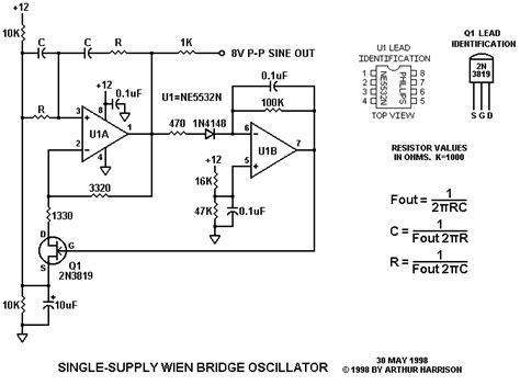 single capacitor oscillator single capacitor oscillator 28 images ltc6906 micropower 10khz to 1mhz resistor set