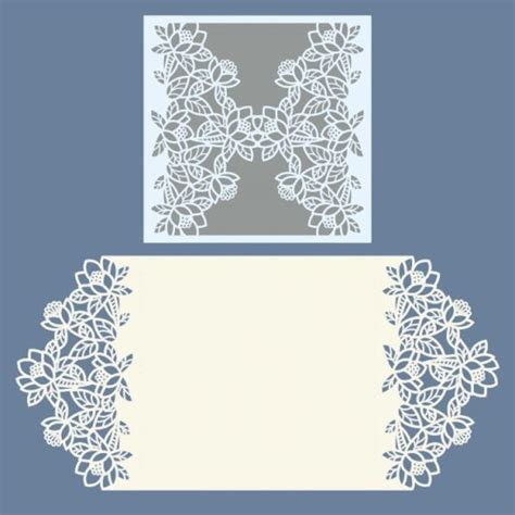 Laser Cut Wedding Invitations Templates best 25 invitation templates ideas on baby