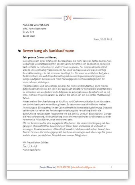 Muster Einladung Einstellungstest Bewerbung Bankkaufmann Bankkauffrau