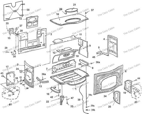 Vermont Castings Fireplace Parts by Defiant Ii 002 The Cozy Cabin Stove Fireplace