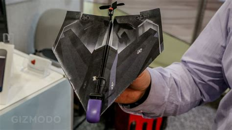 How To Make A Paper Airplane Turn - turn paper airplanes into on drones with this