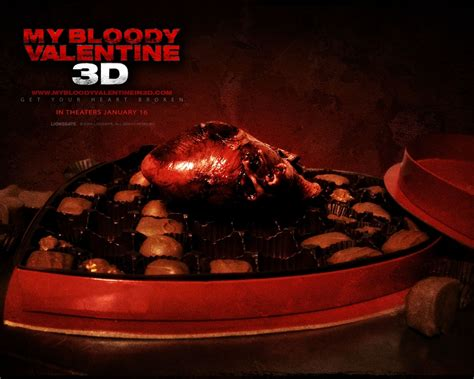 my bloody 2009 free my bloody 2009 horror wallpaper