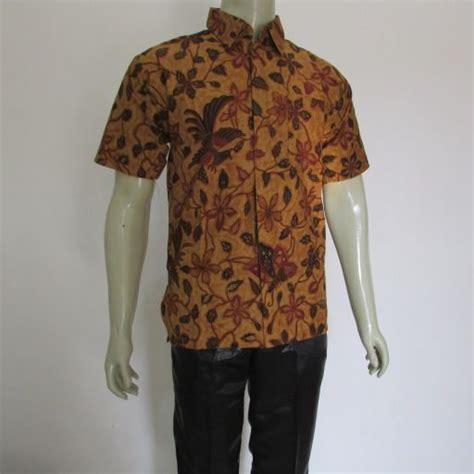 Kemeja Batik Pria Lengan Pendek 39