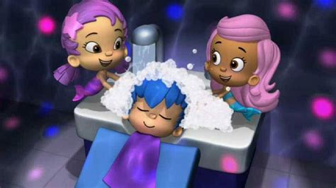 bubble guppies good hair day good hair day with bubble guppies shoo gil bubbles