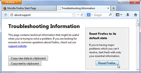 firefox reset themes how do i reset my web browser to its default settings