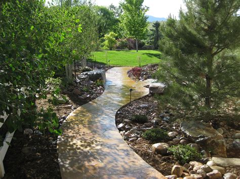 landscaping in denver 187 blog archive 187 meandering flagstone pathway in arvada