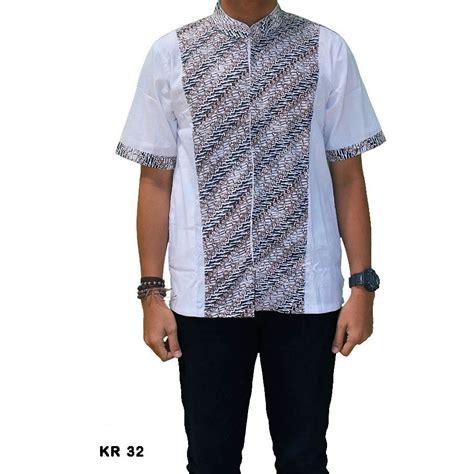 Kemeja Koko Modern Lgt kemeja batik koko pria modern kr 32
