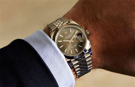 Rolex Oyster Perpetual Datejust 41 in Steel ? Hands on Review