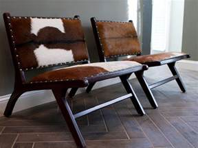cow print chairs photo page hgtv