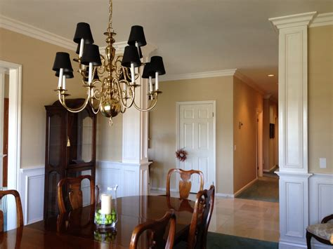 White And Gold Home Decor Dining Room Transformation In The Santiago Estates
