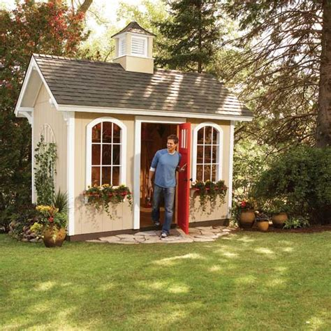 marvelous design of wooden garden shed kits front yard