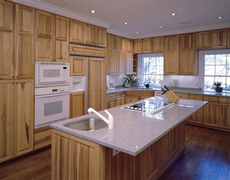 kitchens with hickory cabinets colors for hickory kitchen cabinets optimizing home