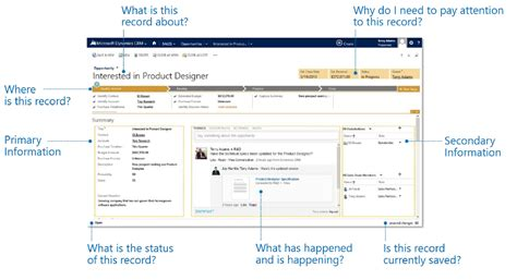 Pop A Top Bar The New User Interface In Microsoft Dynamics Crm 2013