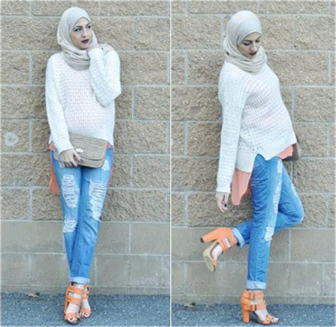Atasan Wanita Qilla Cats White style model celana untuk wanita berhijab