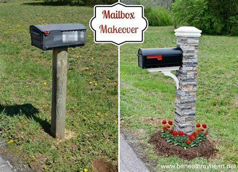 mailbox curb appeal ideas 32 ways to add instant curb appeal to your home without