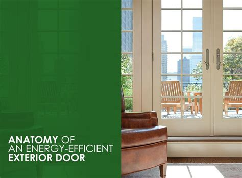 energy exterior doors anatomy of an energy efficient exterior door