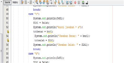 tutorial netbeans bahasa indonesia tutorial membuat soal pilihan ganda menggunakan array 1