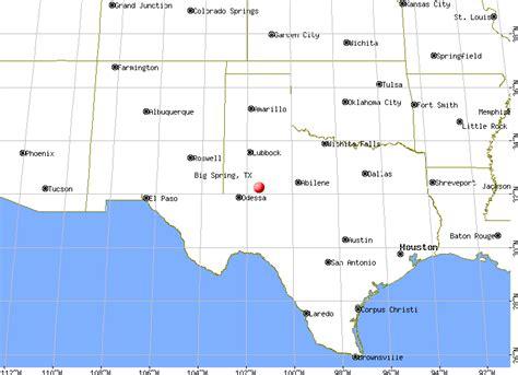 big springs texas map where is big texas yahoo answers