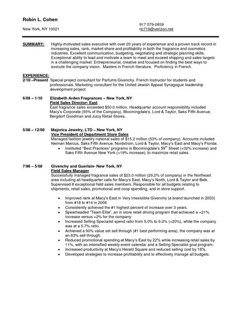 sales associate resume examples created by pros myperfectresume
