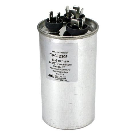 packard 440 volt 30 5 mfd dual motor run