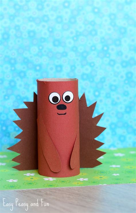 Crafts Made From Toilet Paper Rolls - best 25 hedgehog craft ideas on when do