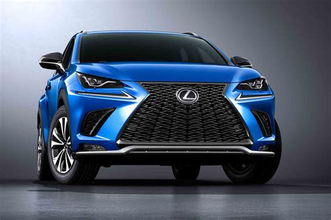 lexus sport 2018 2018 lexus nx shows off new design in shanghai