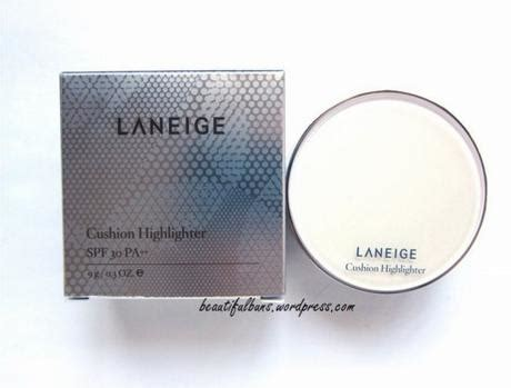 Laneige Cushion Highlighter exclusive review laneige cushion highlighter paperblog