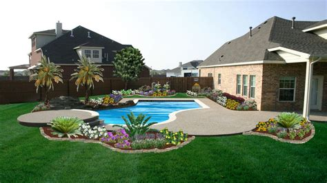 Backyard Pool Landscaping Ideas Fres Hoom Backyard Landscaping Ideas For