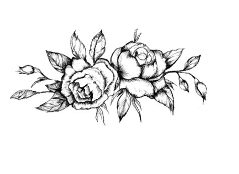 flower tattoos bohemian vintage floral tattoo stickers