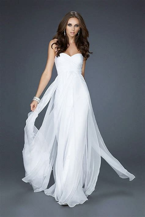 Informal White Wedding Dresses by Wedding Fashion Charming White Formal Dresses For