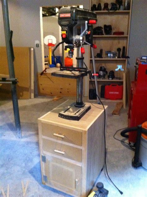 chads workshop drill press stand