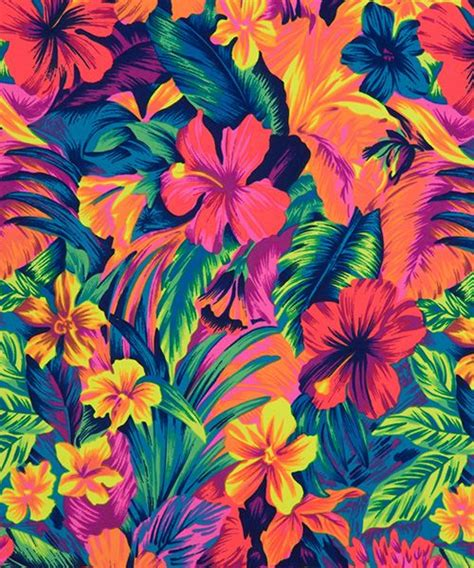 printable tropical flowers tropical surfacedesign fondos pinterest flower