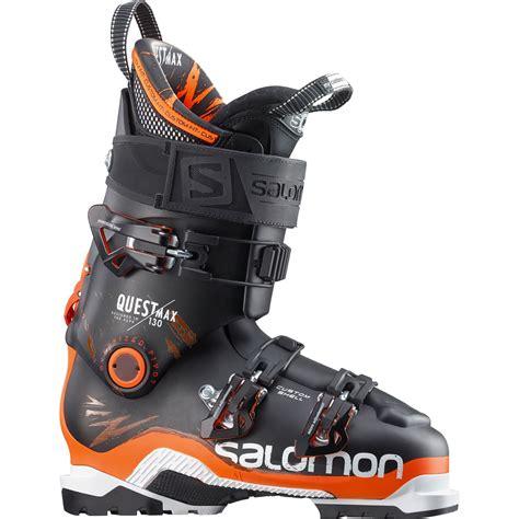 salomon ski boots salomon quest max 130 ski boots 2016 evo