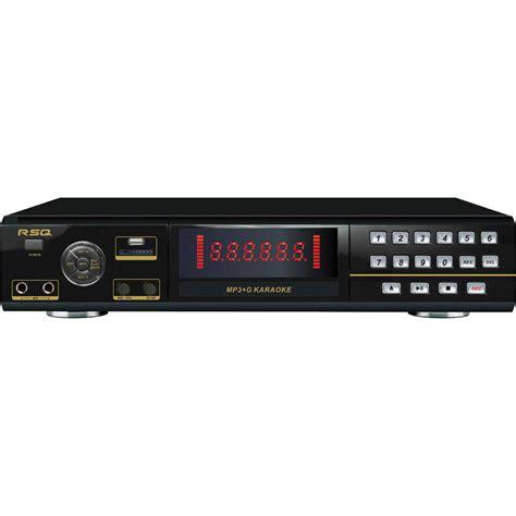format video karaoke rsq audio mkp 2000 multi format karaoke dvd player mkp2000 b h