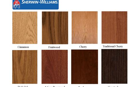 Sherwin Williams Cabinet Stain Resnooze Com