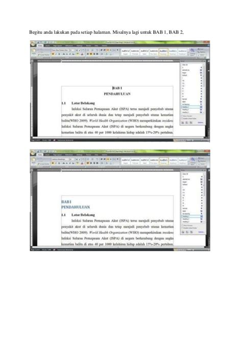 cara membuat daftar isi otomatis di open office cara membuat daftar isi otomatis pada microsoft office