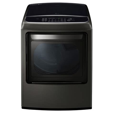 lg gas dryer lg electronics 7 3 cu ft smart gas dryer with steam and